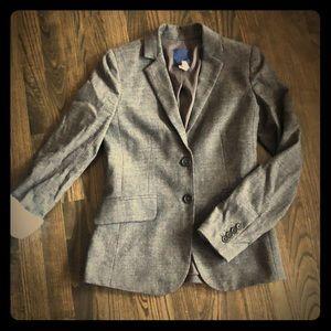 JCrew Stretch Donegal Tweed Jacket